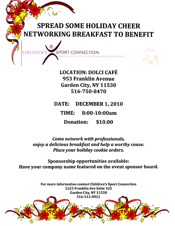 Benefit Networking Breakfast