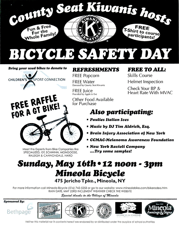 Bicycle Safety Day