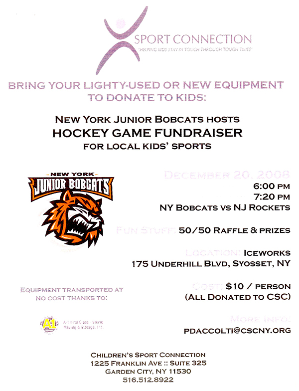 Junior Bobcats Fundraiser